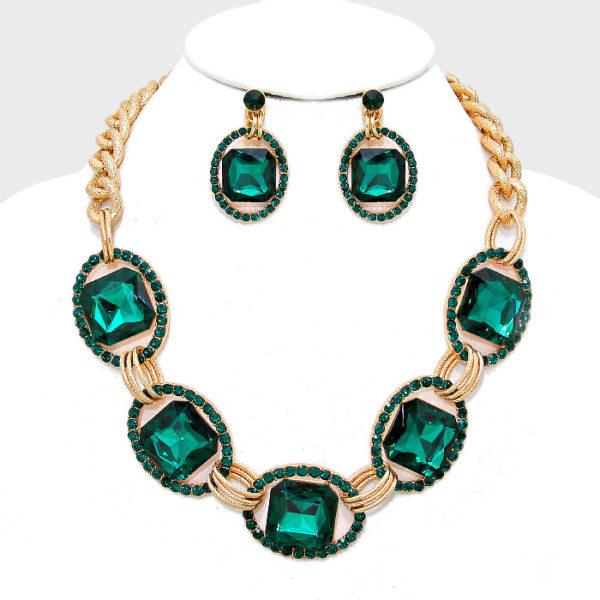 link-necklace-set-green-5359-34-99