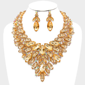 marquise-bib-necklace-and-earring-set-4100-topaz-47-99