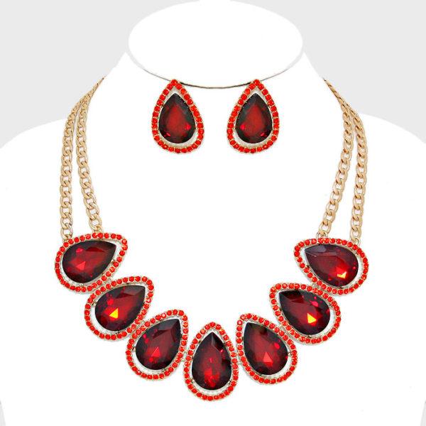 teardrop-collar-necklace-set-red-0104-34-99