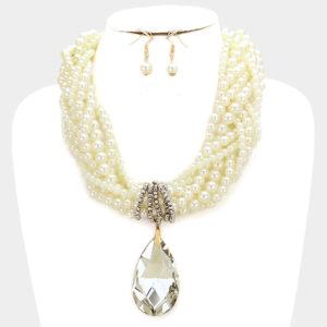 Pearl Glass Drop-8036-24.99