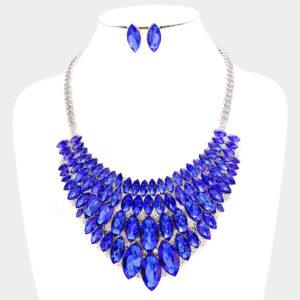 Marquise Bib Set-1239-34.99-Blue