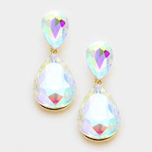 Double Teardrop-7733-Gold-AB-9.99