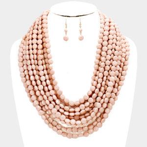 Round Beaded-6058 19.99 Pink